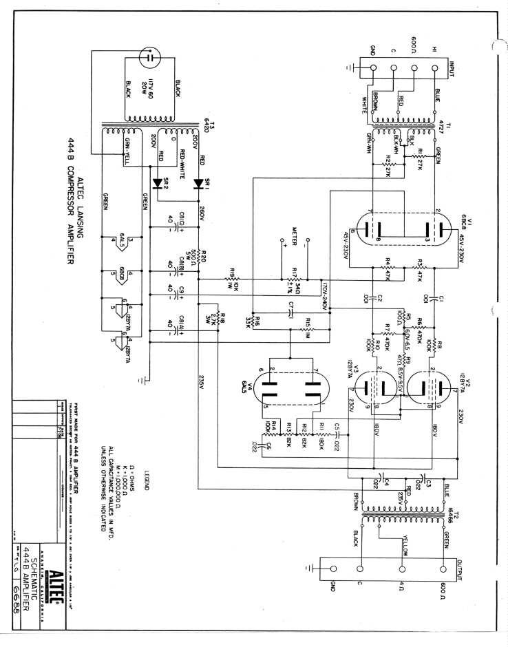 pro audio equipment altec 459a program amplifier schematic altec p522b power supply schematic altec 633 saltshaker dynamic microphone data sheet specs